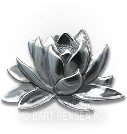 Lotus Broche - zilver