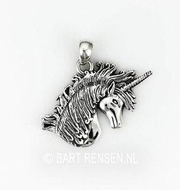 Zilveren Eenhoorn hanger