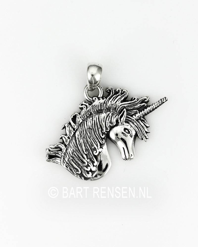 silver gold unicorn necklace short products pendant