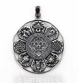 Astamangala hanger - zilver