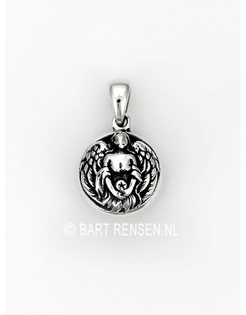 Silver angel pendant from angel pendant sterling silver aloadofball Images