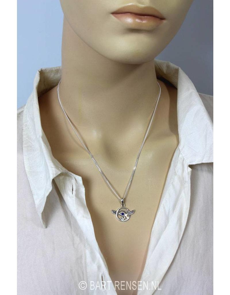 Horusoog pendant - sterling silver