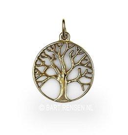Gouden Levensboom hanger