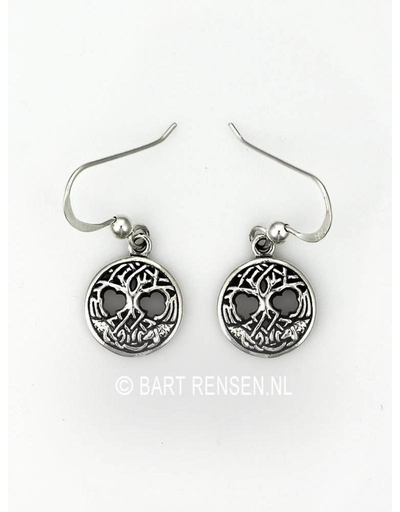 Celtic Tree Of Life Earrings Sterling Silver