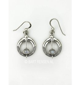 Fibula earrings