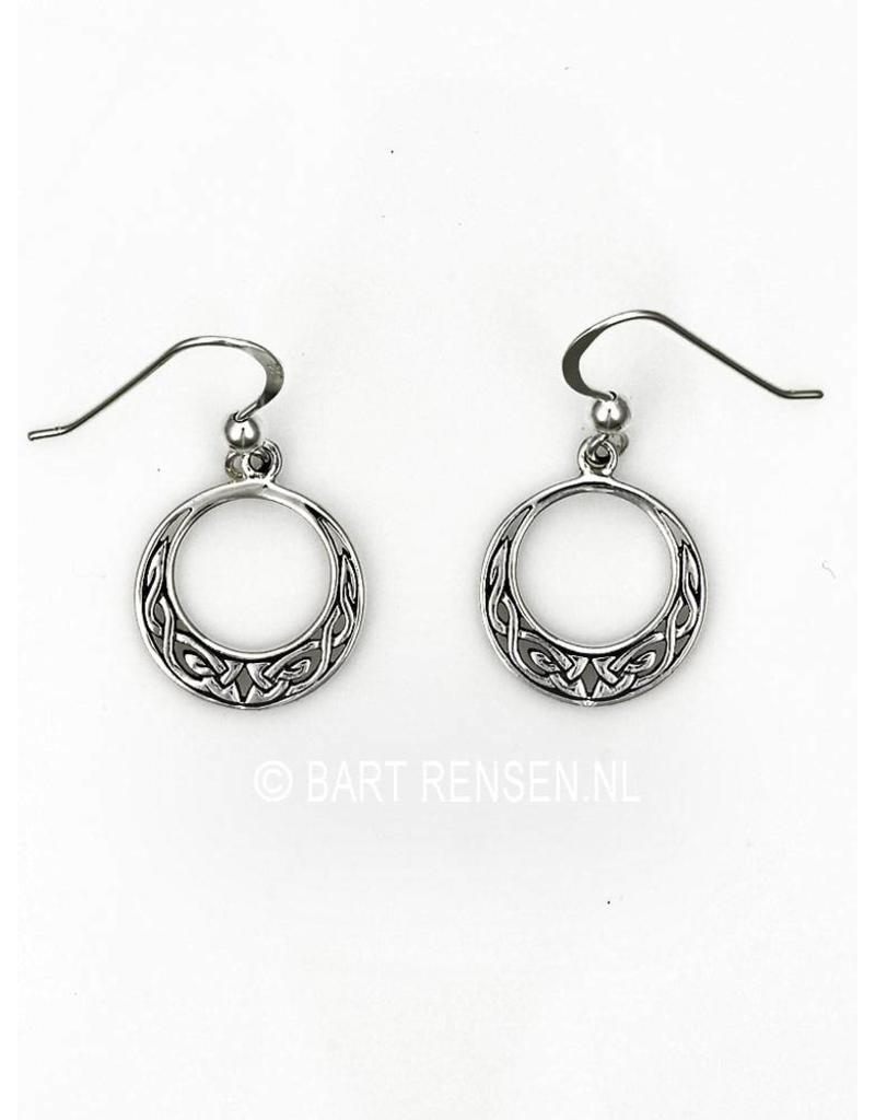 Celtic earrings- sterling silver