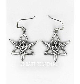 Triquetra Angel earrings