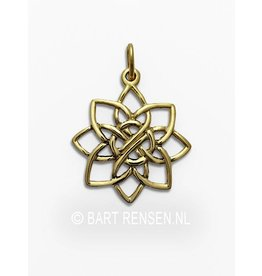 Golden Lotus pendant
