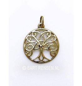 Gouden Keltische boom hanger