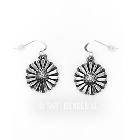 Daisy earrings - silver