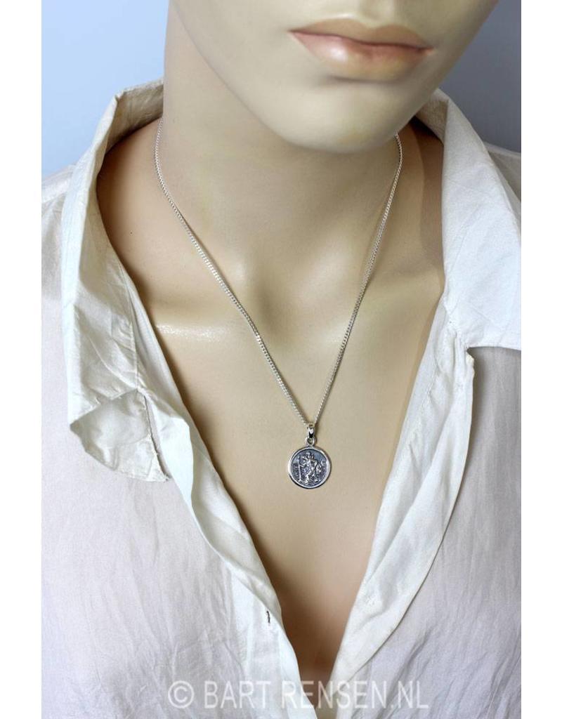 Christoffel hanger - echt zilver