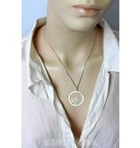 Tree pendant - sterling silver