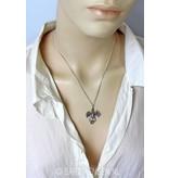 Dragon pendant - sterling silver