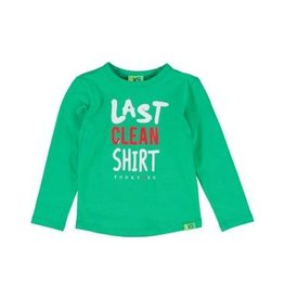 FUNKY XS CLEAN TEE BRIGHT GREEN