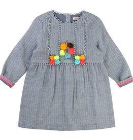 BILLIEBLUSH BillieBlush Denim Bobble Dress U12318/U10228
