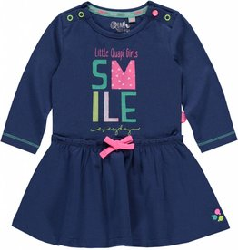 QUAPI BABY DRESS JACOMINE TRUE NAVY