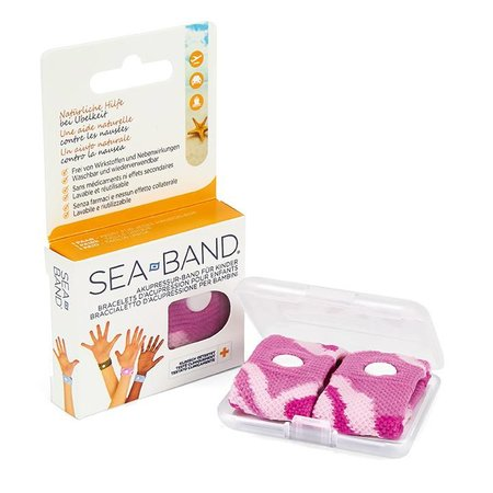 SEA-BAND Bracelets d'acupression pour enfant - rose