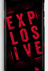 iPhone Hülle Explosive rot