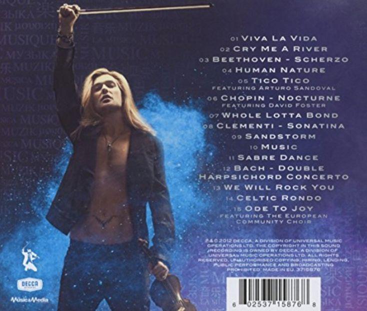 David Garrett Music Album / CD