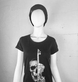 Shortsleeve-Shirt silver violin
