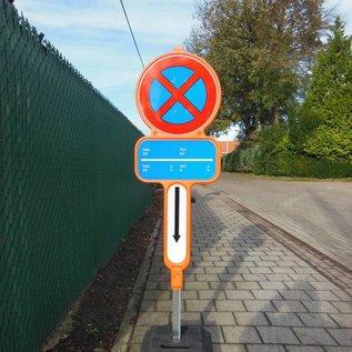 Tijdelijk parkeerverbod - PVC + reflecterende film