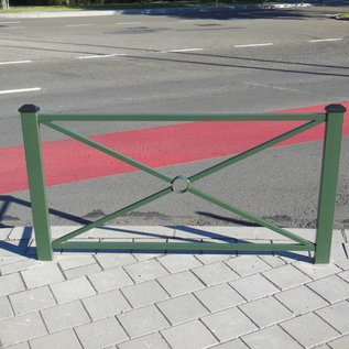 Hek Pagode 108 x 80 cm - Groen (Ral 6009)