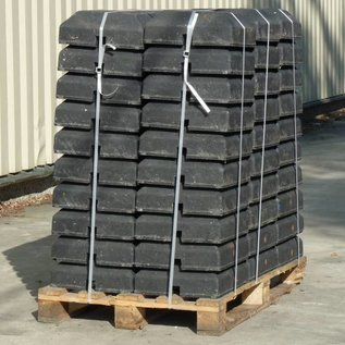 Base mini bloc 15 Kg for beacons (opening 40 x 40 mm)