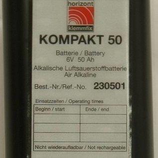 BLOKBATTERIJ Alkaline 45 Ah
