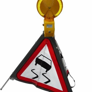 """Driezijdig signalisatiebord type """"!"""" A51"""
