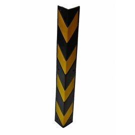 PROTECTEUR DE COIN 800 x100 x8 mm - jaune/noir