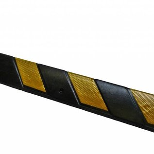 CORNER PROTECTOR 800 x100 x8 mm - yellow/black
