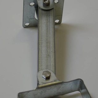 Wall bracket for mirror with knuckle. (FLEX)