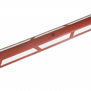 Séparateur de piste cyclable Rouge-Blanc,100 cm