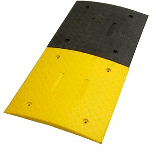 Ralentisseur 'SLOWLY' 3 cm - pour les terrains industriels et les parkings