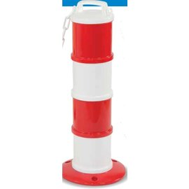 Modular beacon Red / White Ø 200 mm + 5 m chaine