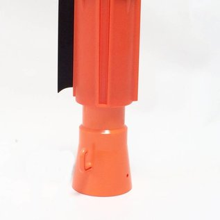 Dérouleurs de sangle pour cônes, 3 m x 100 mm Rouge Blanc.
