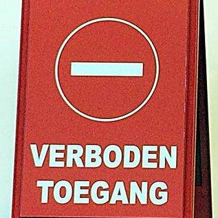 """Veiligheidsbaken """"verboden toegang"""""""