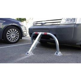 Parkeerbeugel met schokdemper en cilinderslot 970 x 405 x 650 mm - Ø 60 mm