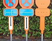 Tijdelijk parkeerverbod (PVC)
