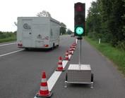 Tijdelijke verkeerslichten