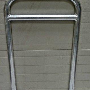 Arceau à vélo avec barre transversale 600 x 1050 - acier galvanisé