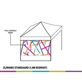 Sidewall 3m - 2/3 Full colour