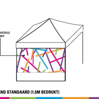 SIDEWALL 4m - 2/3Full colour