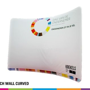 Stretch Wall Curved beurswand