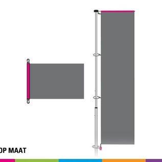 Vlaggen op maat (prijs/m²)