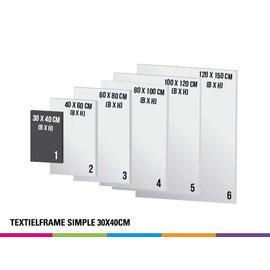 Textielframe simple 30x40cm