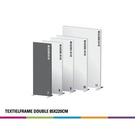 Textielframe double 85x220cm