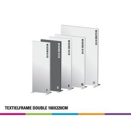 Textielframe double 100x220cm