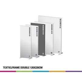 Textielframe double 120x220cm