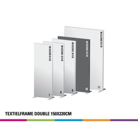 Textielframe double 150x220cm